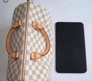 🚚 Customised handmade faux leather bag base shaper for luxury handbags