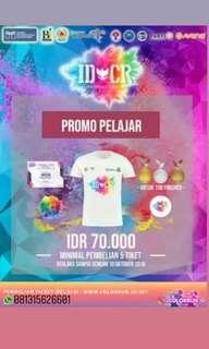 ADA LAGI! UNTIL 15 OKTOBER 2018! Indonesia Color Run