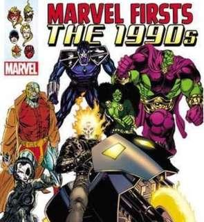 [NEW, SEALED] Marvel Firsts: The 1990s Vol. 1