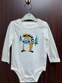 全新Baby gap長袖棉質夾衣(6-12m) 送平郵