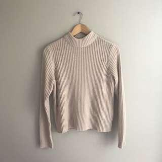 H&M Mockneck Sweater