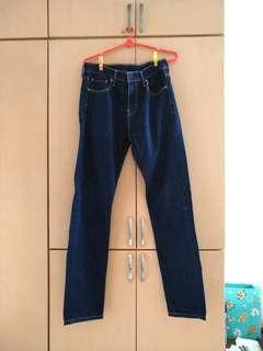 Leviy Navy Blue Jeans