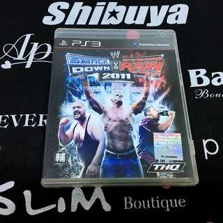 PS3 Game WWE SmackDown vs. Raw 2011