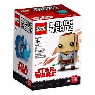 Leeogel Lego 41602 Brickheadz Brick Headz Star Wars Rey - New In Sealed Box
