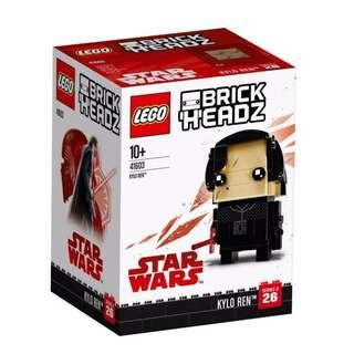 Leeogel Lego 41603 Brickheadz Brick Headz Star Wars Kylo Ren - New In Sealed Box