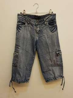 Cropped Jeans Pants
