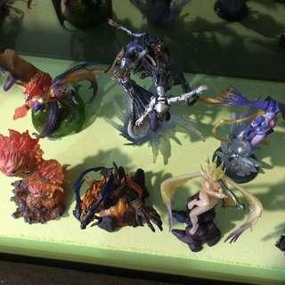Final fantasy creatures kai and minifigs