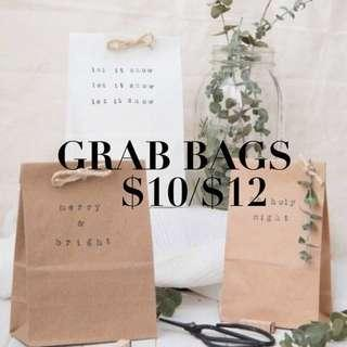 GRAB BAGS 3 FOR $8