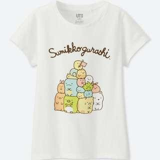 Uniqlo UT Sumikko Gurashi in White