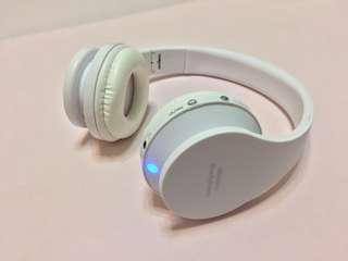 🚚 藍芽重低音耳罩式耳機Bass earmuff wireless Bluetooth headset