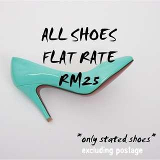 All Shoes 👠 RM25 !!