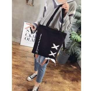 Korean Ribbon Tote Bag