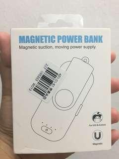 Magnetic mini portable powerbank
