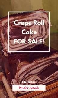 Crepe Roll Cake