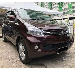 2012 Toyota Avanza 1.5 G (A) One Owner Low Mileage-Full Toyota Service Record