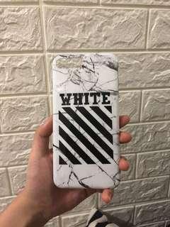 OFF WHITE marble case KW 7plus 8plus