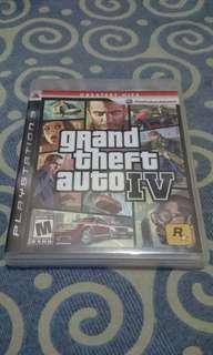 GTA IV PS3 Game Games