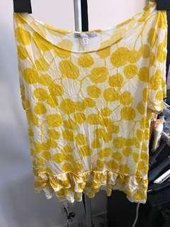 Gap Peplum T shirt size M