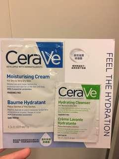 CeraVe two pieces=$5