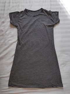 BRAND NEW Stripes Tshirt Dress