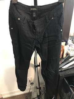 Black Skinny jeans/pants size 7