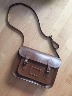 """Cambridge Satchel Leather - 11"""" - Brown colour"""