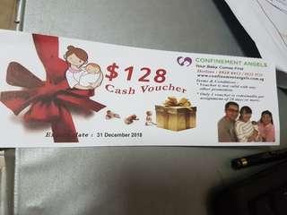 Confinement angels nanny service $128 off voucher