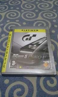 Gran Turismo 5 Prologue PS3 Game Games