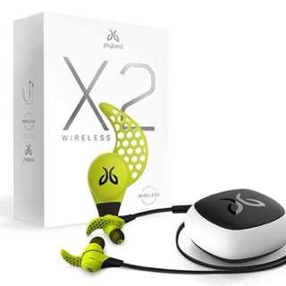 Jaybird X2 Bluetooth Wireless Sweat-Proof Micro-Sized Bluetooth Sport Headphones