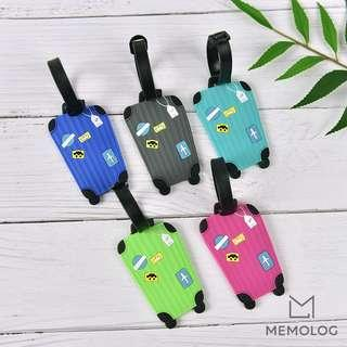 Adorable Travel Suitcase Luggage Tag