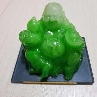 🚚 「琉璃笑佛」Laughing Buddha + 底座 + 精美盒