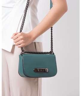 Coach Sling Bag (Swagger 20 - Green Colour)