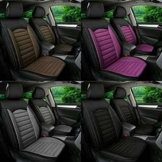 Linen full car seat cover. Free postage