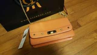 d019e928597c MCM Chain Wallet Clutch Sling Bag