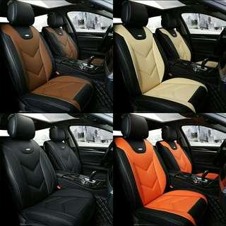 Pvc leather full set acr seat cover. Free postage.