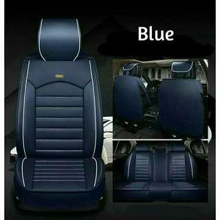 Pvc leather full set car seat cover. Free postage
