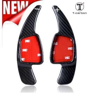 T Carbon Carbon Fibre Paddle Extension Sports Shifter For 2017 A4, A5, Q2, Q7, S4, TT
