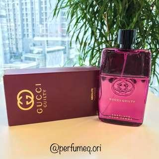 [FOR HER] GUCCI Guilty Absolute Pour Femme EDP 90 ml - with box & 100% original.