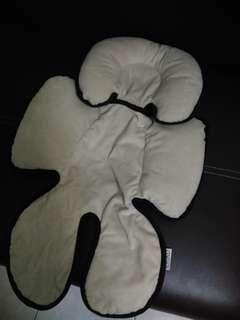 Baby Head Body Support for Stroller/Car Seat
