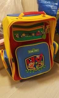 芝麻街school bag