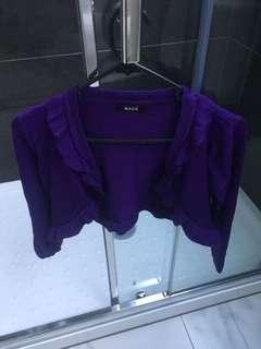 Purple cardy