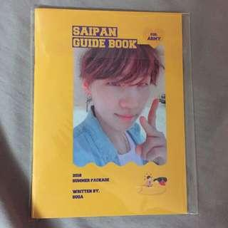 YOONGI GUIDEBOOK SUMMER PACKAGE BTS