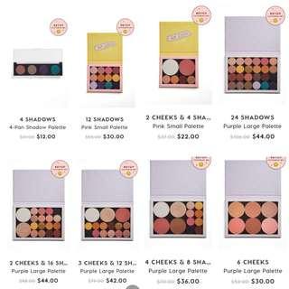 CHEAP Colourpop Build Your Own Palette PREORDER Sale