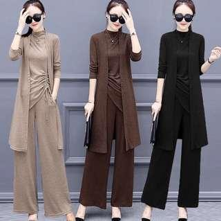 Women Elegant 3 pieces Pants Suits #SINGLES1111