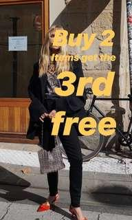 Buy 2 items get the 3rd FREE