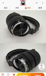 HEAD PHONES ONE ODEO CUSTOM MADE HEADPHONES