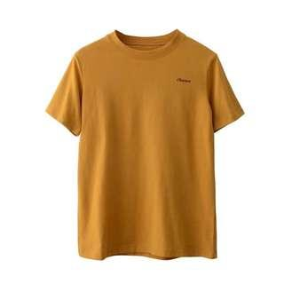 T-shirt ginger yellow size S