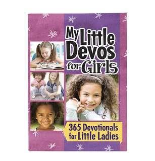 ~READY STOCK~ BN My Little Devos for Girls - 365 Devotionals for Little Ladies Pocket Devotional Book from DaySpring
