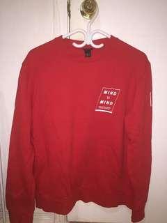 "H&M ""Mind to Mind"" sweater"