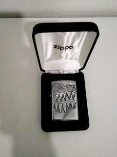 Zippo Lighter Dragon emblem